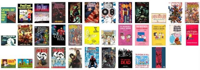 catalog comics gns