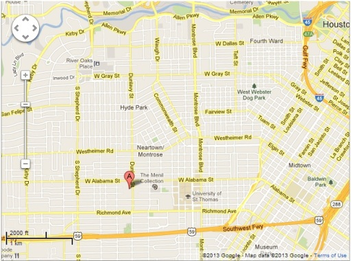 heb google map