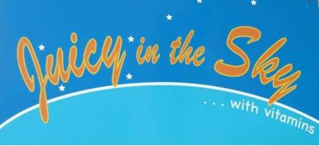 Juicy in the Sky logo