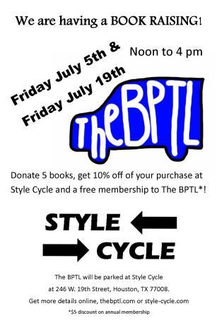 BPTL Book Raiser